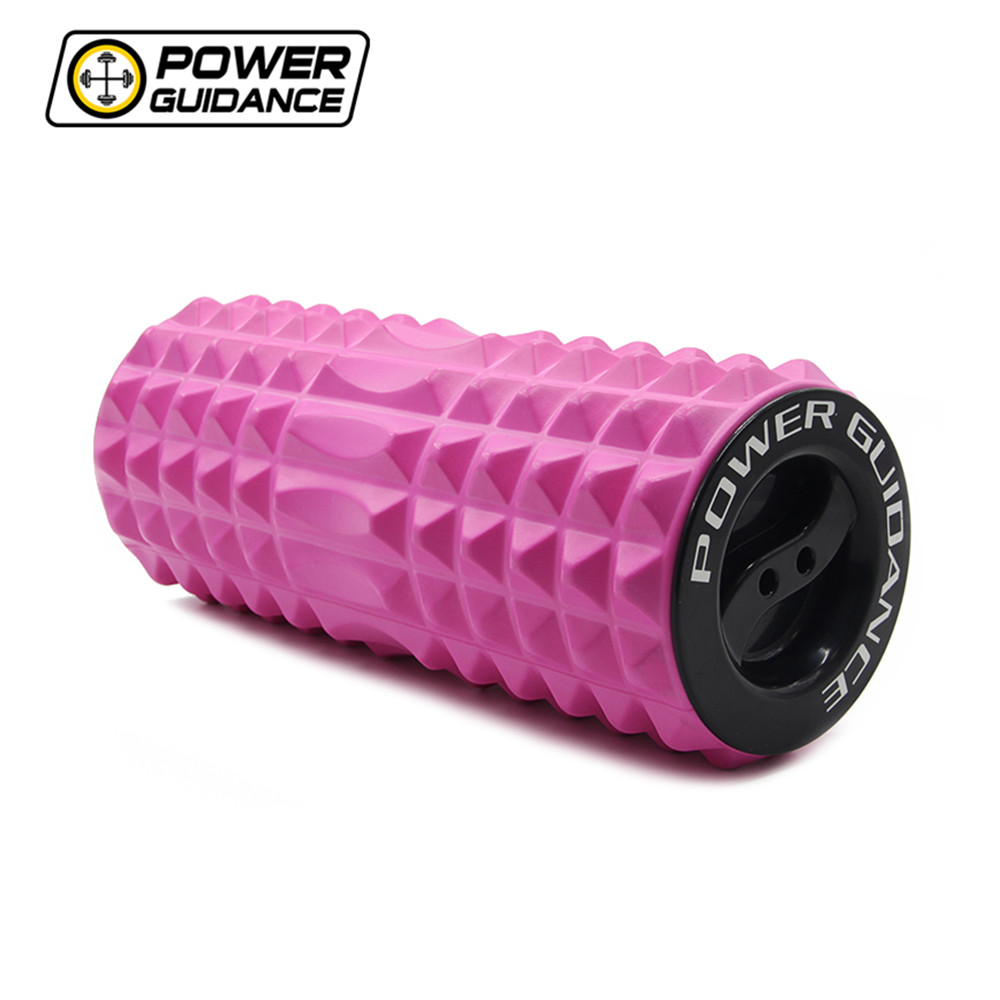 45CM Fitness High Density Crescent-shaped Foam Roller for Deep Tissue Massage &amp; Muscle Therapy<br>