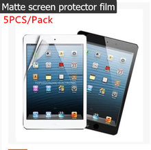 5PC/ Pack good front protective matte screen protector for 2017 ipad air 1 2 pro 9.7 film anti glare guard carton pack(China)