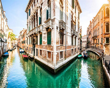 beibehang Venice city canal 3D bedroom living room backdrop picture papel de parede 3d para sala atacado	 wallpaper for walls