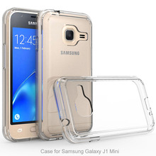 Buy Hybrid Hard TPU Acrylic Back Cover Protective Bumper Antiknock Transparent Crystal Clear Phone Case Samsung Galaxy j1 mini @ for $2.47 in AliExpress store