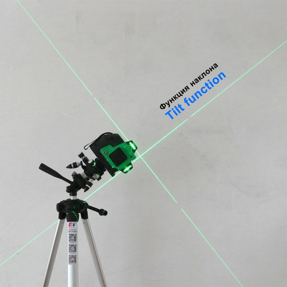 Kaitian Laser Level MG3D3 tilt function