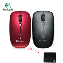 Logitech M557 Bluetooth Wireless Mouse with Ergonomic Mice 1000DPI 2.4Ghz Wireless Support Official Agency Test + Free Gift