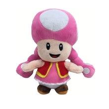 1 peça 17 cm Super Mario Bros Cogumelo Cogumelo toadette Toy Plush macio  stuffed Boneca dos desenhos animados ec78b748fd