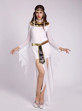 2016 Halloween Clothes Women Sexy Arab Queen Of Egypt Cleopatra Cosplay Costume Ladies Sexy Fancy Dress Clothes