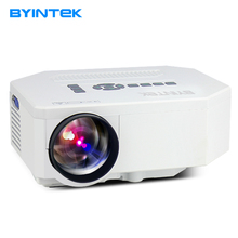 BYINTEK BT300 Portable 1200lumens 1080P HD Home Theater LCD PC uC30 HDMI USB Video Game LED Mini Projector Projector HD  Beamer