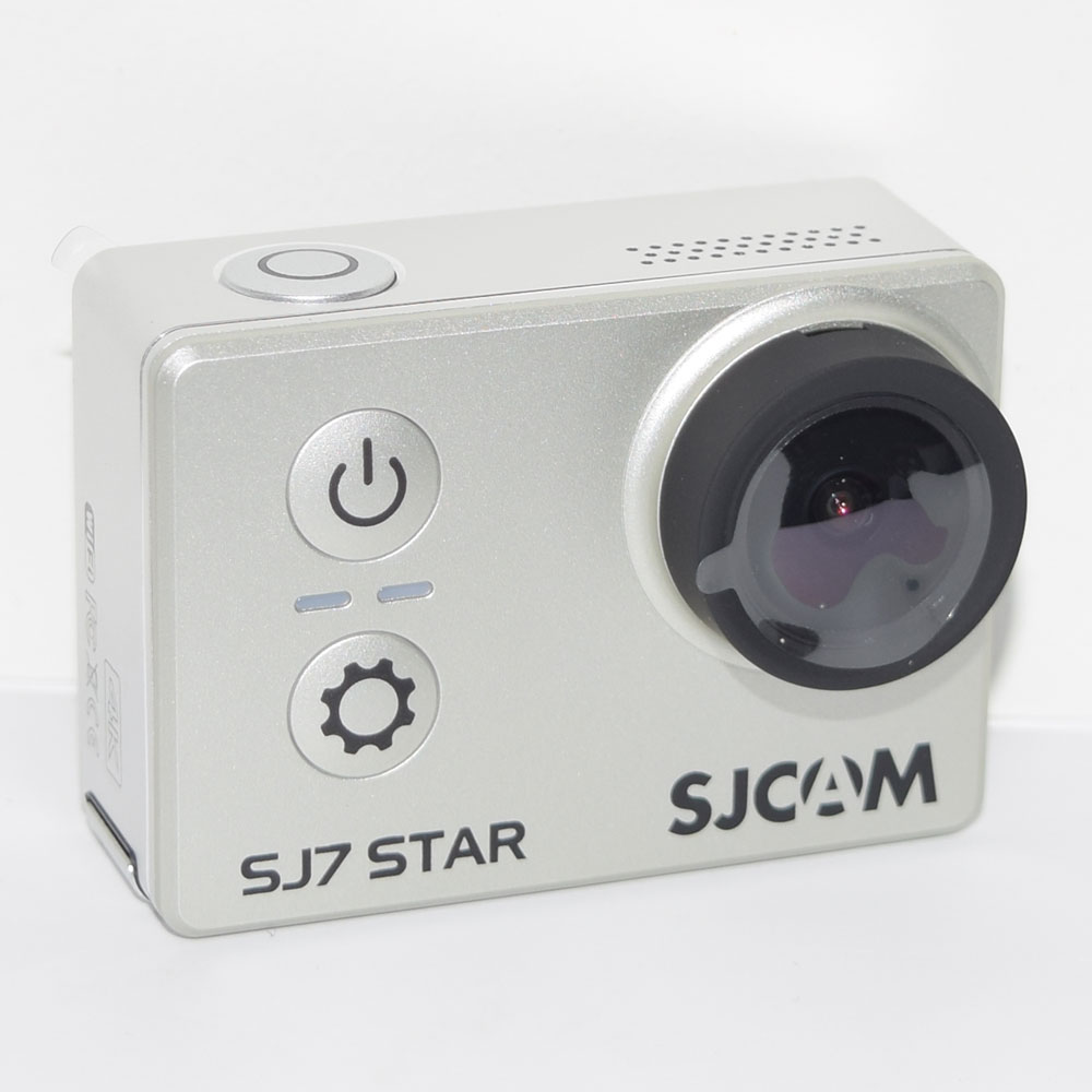 silver SJCAM SJ7 Star 4K Wifi Sports Action Camera