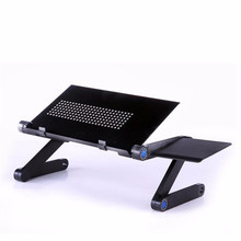 Adjustable Vented Laptop Table Laptop Computer Desk Portable Bed Tray Book Jun23 Professional Factory Price Drop Shipping