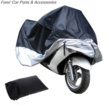 1Piece 180T Motorcycle Cover Waterproof Outdoor Uv Protector Bike Rain Dustproof,Covers for Motorcycle, Motor Scooter Cover Hot