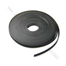 10 meters Black MXL Rubber Imported Open Timing Belt 6mm Width for 3D Printer CNC, Engraving / plotter/ engraving/ laser machine