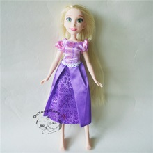 Fashion Action Figure Princess Royal Shimmer Doll Rapunzel No shoes Best Gift for Child