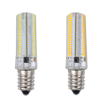 E12 6W Screw-on 152 LED  Silicone Dimmable LED Bulbs for Home Offices