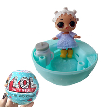 2017 New Arrival!! 9.5CM LOL Surprise Dolls Water Spray Color Change Egg Girls Favorite Action Figures Dolls Gifts Toy Random