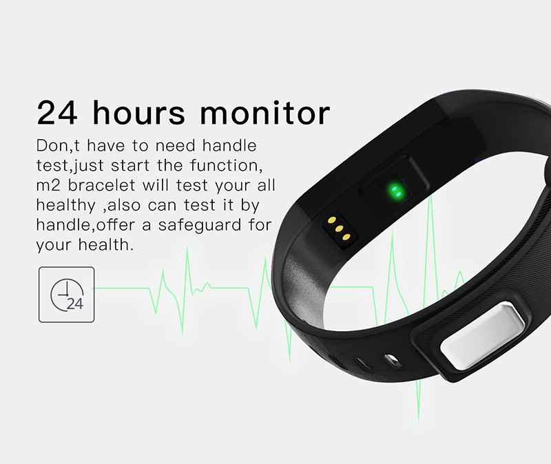 Fitness bracelet Heart Rate Monitor smart bracelet watches blood pressure activity tracker pk for IOS Android mi band 2 fitbit 6