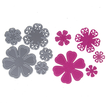 Buy Adv-one 79*80mm Flowers Bloom Bloosom stencil Metal Cutting Knives Cutting Dies Practice DIY Scrapbooking Album Craft dies for $2.00 in AliExpress store