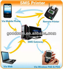 Cheap GPRS SMS Printer , Food Order Printer , 1 year Warranty and All-life technical supported