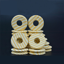 100 pcs/lot Outdoor Fishing line Circular Winding plate foam Board Fishing Lure Trace Wire Leader Swivel Tackle FO141