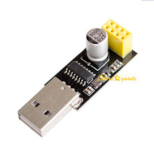 20pcs USB to ESP8266 CH340 ESP-01 Wifi Module Adapter Computer Phone Wireless Communication Microcontroller Module(China)