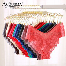 Buy ACOUSMA Women Ultrathin G-String Transparent Sexy Panties T back Thongs Underwear Seamless Female Soft Lingeie 13colors Optional