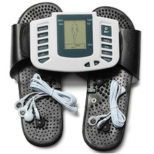 Electronic Full Body Massager Therapy with Slippers Multifunctional Pulse Acupuncture Body Massage Slimming Machine