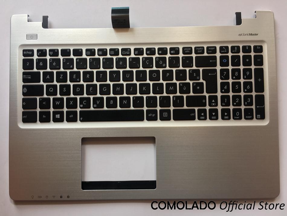 FR French Keyboard for ASUS K56 K56C K56CA K56CM FR AZERTY Layout laptop keyboad Palmrest Upper -1
