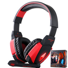 EACH G4000 USB Pro Gaming Headphone Headset Game Surround Sound Noise Cancelling Casque with Bass Mic for Computer Fone PC Gamer