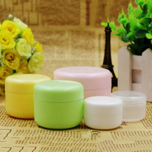 5 Pcs/Set Empty Makeup Jar Pot Travel Face Cream/Lotion/Cosmetic Containers(China)