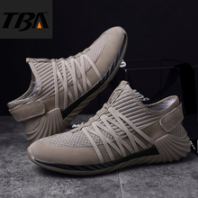 TBA Men's Sneakers Breathable Air Mesh Winter Running Shoes Male Top Rubber Sole Men Sneakers Running Cushion Men's Sport Shoes