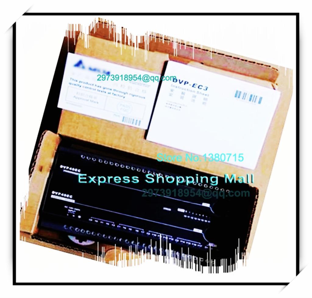 New Original DVP30EC00T3 Delta PLC EC3 series 100-240VAC 18DI 12DO Transistor output<br><br>Aliexpress