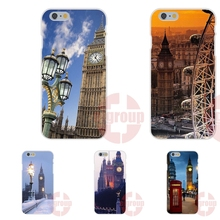 london big ben with aluminum frame For Huawei Mate 7 8 9 P7 P8 P9 Lite Plus Soft TPU Silicon Cell Bags