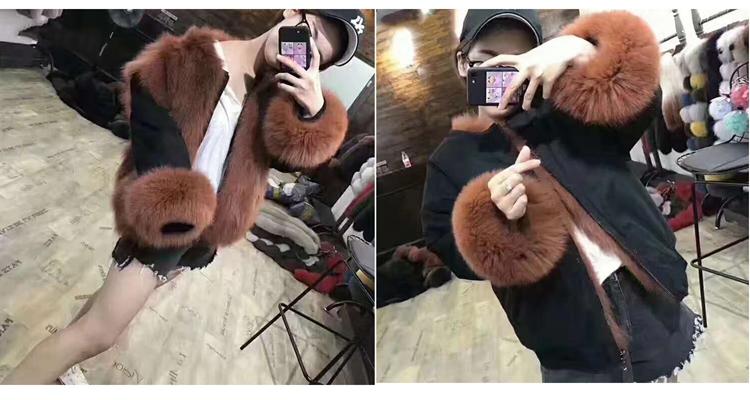 new styles fox fur jacket for women (34)