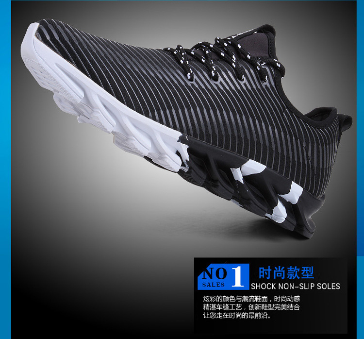 17New Hot Light Running Shoes For Men Breathable Outdoor Sport Shoes Summer Cushioning Male Shockproof Sole Athletic Sneakers 10
