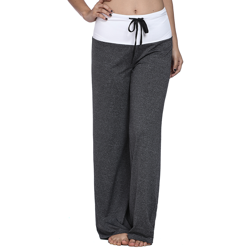 Loose Print Patchwork Harem Pants Capri Bottoms Sweatpants High Waist Female Pants Women Autumn 2018 Wide Leg Trousers