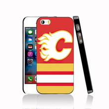 14573 calgary flames hockey canada protective Cover cell phone Case for iPhone 4 4S 5 5S 5C SE 6 6S Plus 6SPlus