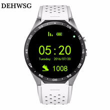 DEHWSG 2017 Smartwatch 3G KW88 PK Finow X5 X6 1.39'' Amoled 400*400 Smart Watch 3G Calling 2.0MP Camera Pedometer Heart Rate