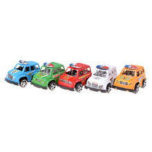 1pcs 6*4cm Cute mini Toy Cars Christmas birthday Gift for Child Plastic Mini Car model toys for kids Toy Vehicles Color Randomly(China)