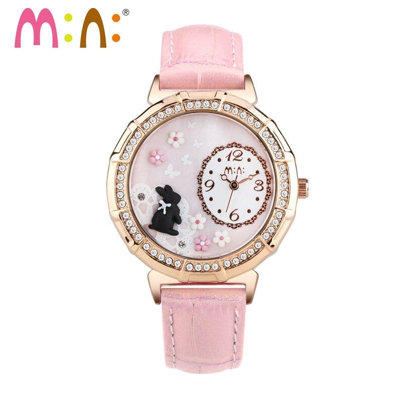 Luxury Brand Ladies Watch Fashion Waterproof Gold 3D Rabbit Bracelet Women Quartz Wrist Watch Clock Woman 2017 Relogio Feminino<br>