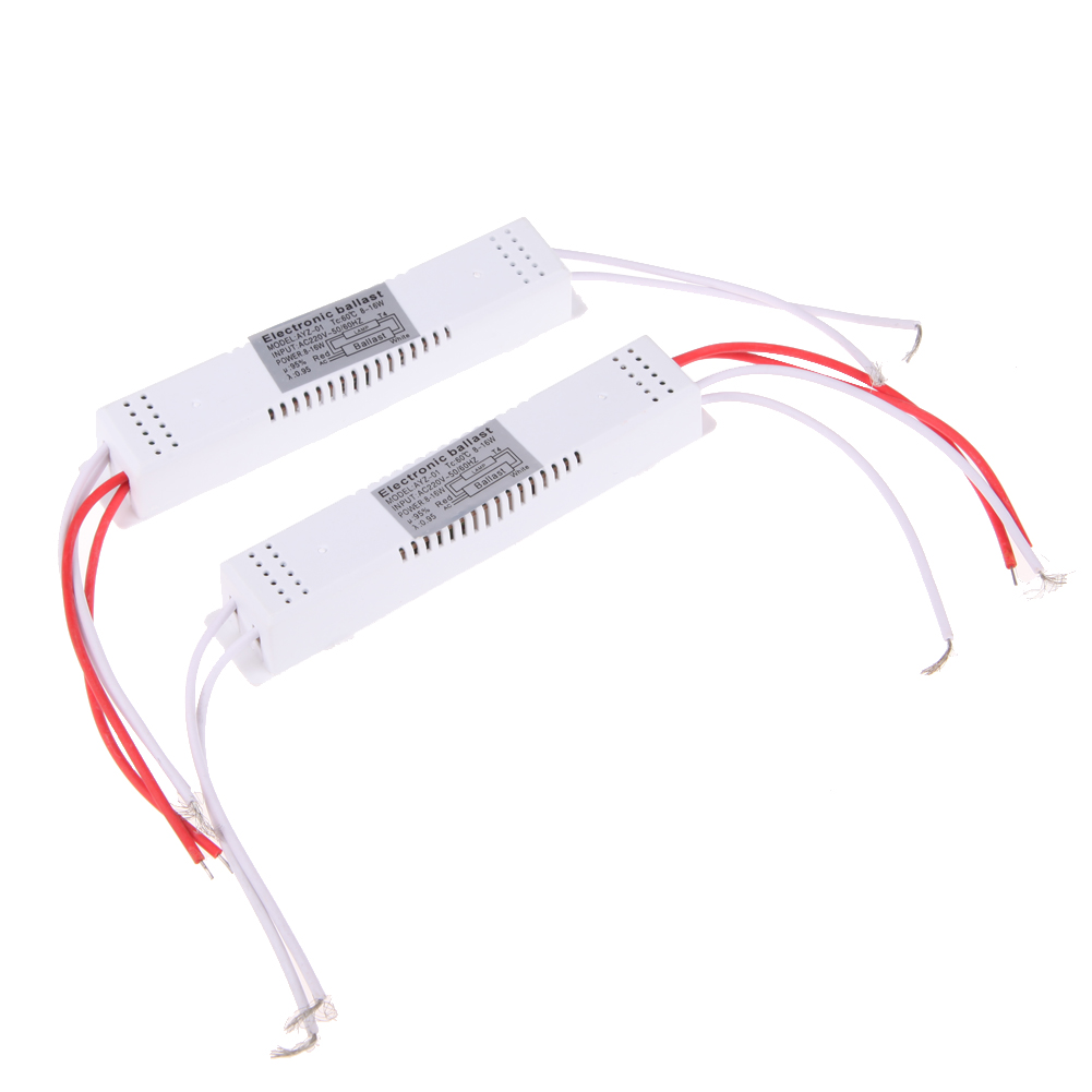 2pcs Electronic Ballast for Fluorescent AC 220V 8-16W Bulb Fluorescent Light Ballast Energy Saving(China (Mainland))