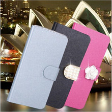 Flip Stand Book Style Silk Case Capa For LG G2 G3 G4 Mini C40 C70 L70 L90 K8 K10 Phone Case Protection Shell