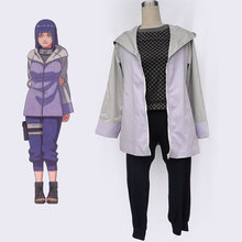 Naruto Hinata Hyuga Cosplay Costumes Cartoon Character Women Dress Up Clothing For Halloween Party Custom Made