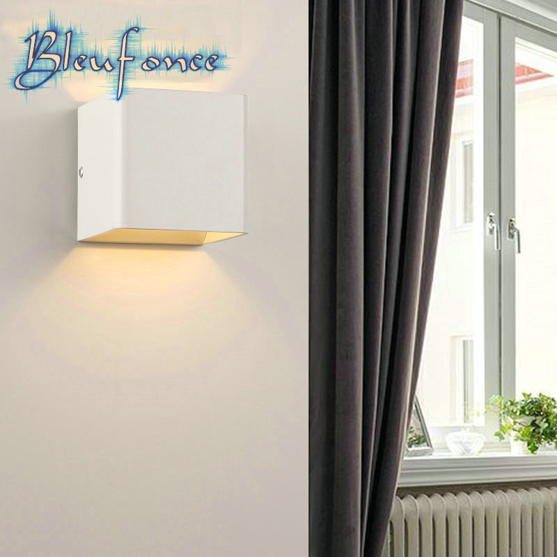 Indoor 3W LED wall lamp Fashion creative simple Lights living room wall lamp corridor Sconce aisle lights bedroom bedside lamp<br><br>Aliexpress
