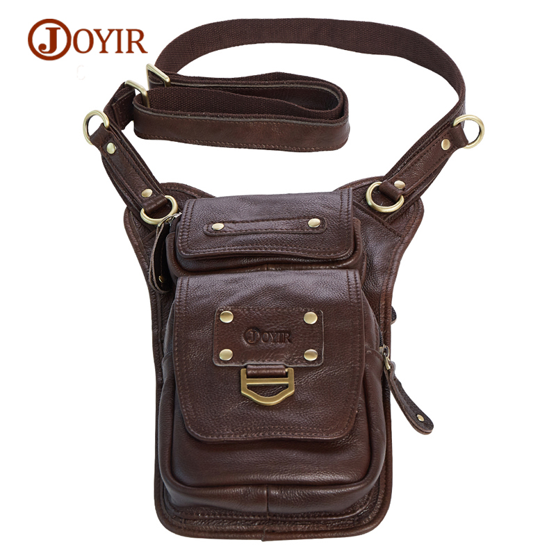 JOYIR Mens Bags Genuine Leather Crossbody Bags Cow Leather Small Mini Men Messenger Bags Male Cow Leather Cell Phone Pocket<br>
