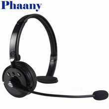 Phaany Bluetooth Handfree Headband Headset Wearing Stereo Wireless Bluetooth Headphone with Microphone Works Well with SKYPE,MSN