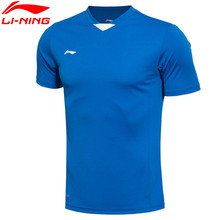 Li-Ning Original Soccer Jersey Training T-shirt Quick-Dry Short-Sleeve Soccer Breathable T-shirt Tee AAYK353