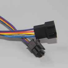 Universal 3Pin 4Pin RAM Memory Cooler Cooling Fan Adapter Power Cable for HP Z600 Z800 Workstation Server 20cm(China)