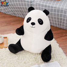 45cm Quality China Panda Plush Toy Stuffed Animal Doll Baby Kids Children Birthday Wedding Gift Home Shop Decoration Triver(China)