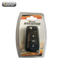 XHORSE VVDI2 for Toyota Type Wireless Universal Remote Key 3 Buttons 5pcs/lot(Hong Kong)