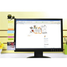 Angel / Owl Computer Monitor Screen Post-it Board Holder: Memo paper Sticky Note W30(China)