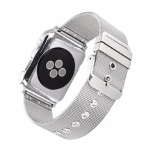 HOT Best selling Good Price Metal Stainless Steel milanese loop Mesh Watch Strap Band for Apple Watch Bands for iWatch 38 42mm