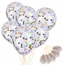 10pcs/pack New beautiful 12 Inch Paper Balloon Things Confetti Balloon Wedding Decoration Birthday Party Decoration(China)
