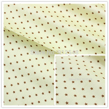 15122692,50cm*150cm Brown star produce accessories for children, children like quilt, DIY handmade, garment accessories material(China)
